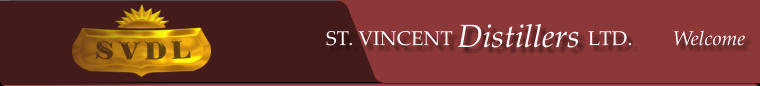 ST. VINCENT Distillers, LTD.     Welcome ST. VINCENT Distillers LTD.        Welcome