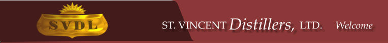 ST. VINCENT Distillers, LTD.     Welcome